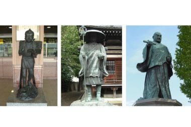 銅像建立数ランキング